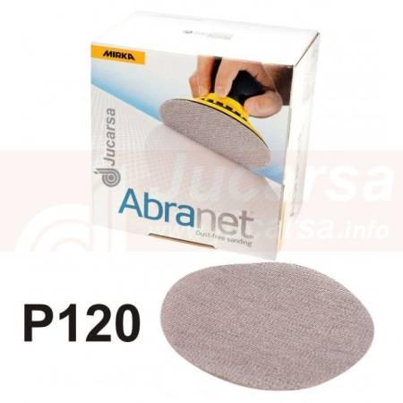 DISCOS ABRANET D150 mm P120 (50 und)