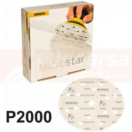DISCO MICROSTAR 150mm GRIP P2000 15 AGUJEROS