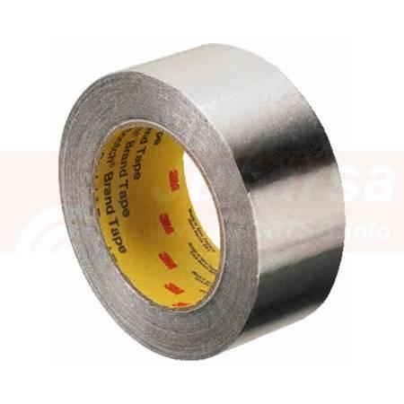 Cinta de aluminio Rollo 50 mm x 50 m 3M 1436