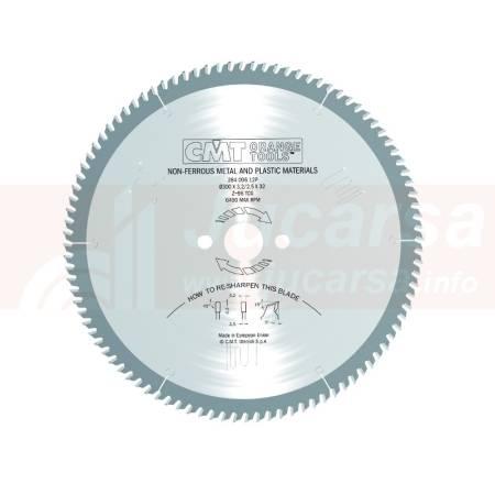 SIERRA CIRCULAR PARA ALUMINIO 300X32X3.2 Z96 TCG 5 POS