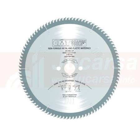 SIERRA CIRCULAR PARA ALUMINIO 300X32X3.2 Z 96 TCG 5 POS.