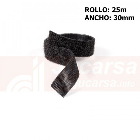 Metro Velcro OneWrap negro A.30mm