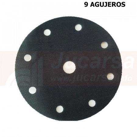 ADAPTADOR ADHESIVO PARA BASES DE VELCRO 150 mm. y 9 agujeros