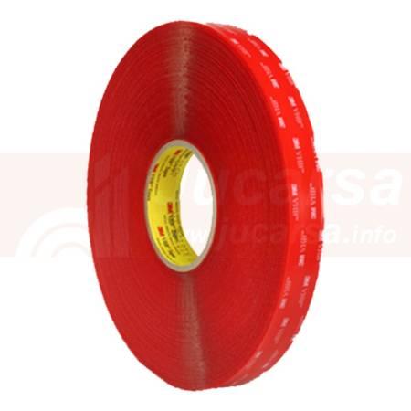 Rollo cinta 3M VHB 4910F 19 mm x 33 m 1mm