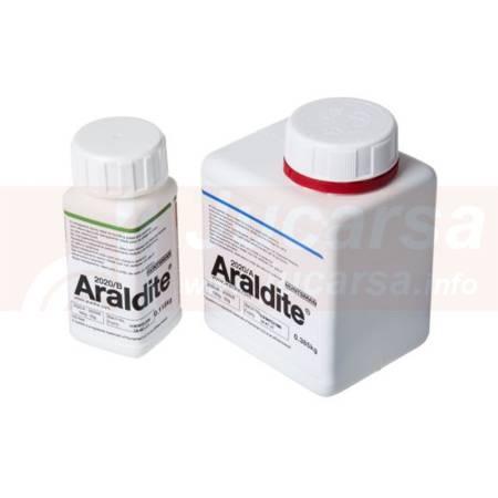 ARALDITE 2020 Sistema adhesivo epoxídico, transparente, de dos componentes