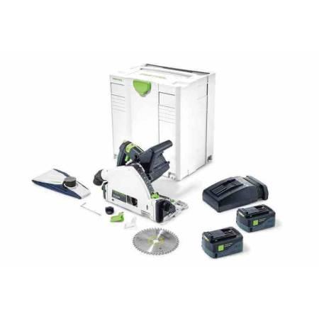 Festool Sierra de incisión de batería TSC 55 Li 5,2 REB-Plus