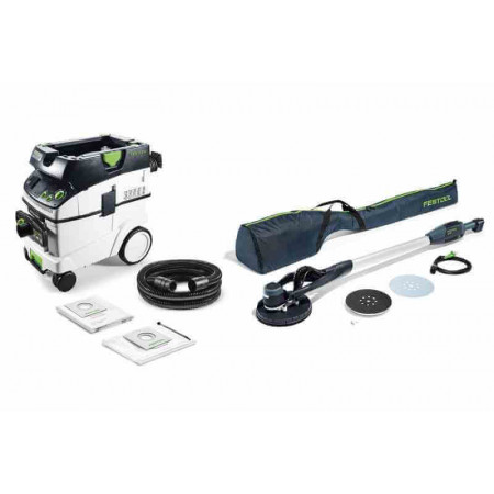Festool Lijadora de pared LHS-E 225/CTL36-Set PLANEX