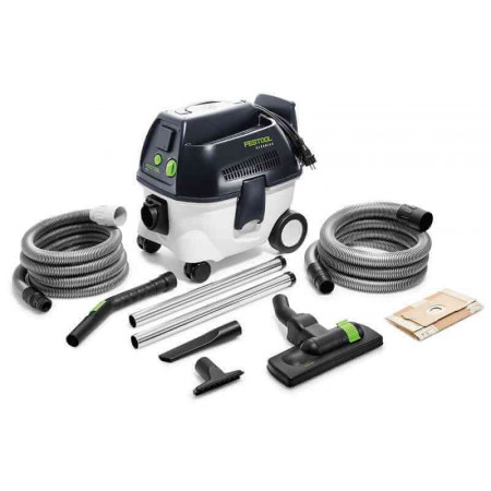 Festool Sistema móvil de aspiración CT 17 E-Set BU CLEANTEC