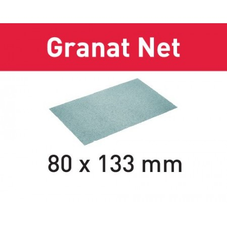 Abrasivo de malla STF 80x133 P80 GR NET/50 Granat Net