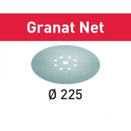 Abrasivo de malla STF D225 P320 GR NET/25 Granat Net