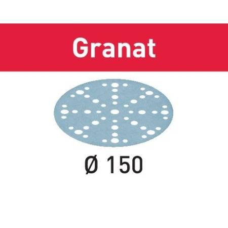 Disco de lijar STF D150/48 P80 GR/10 Granat