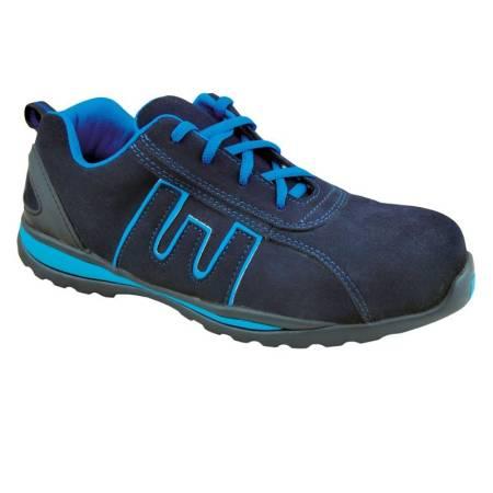 Zapato de seguridad Azul