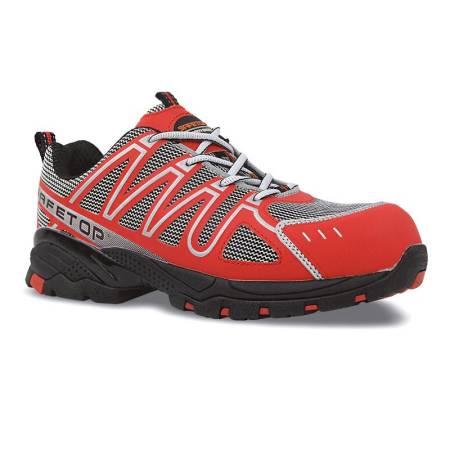 Zapato de seguridad Rojo