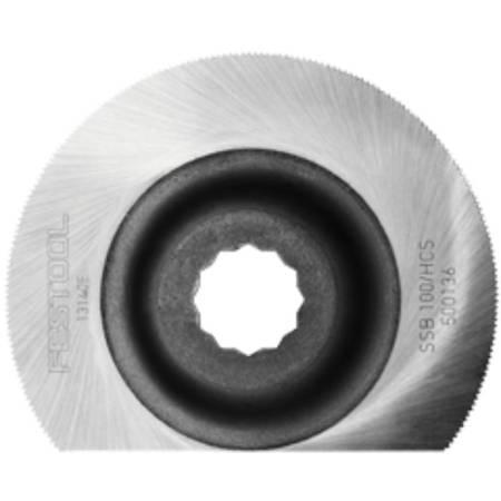 Festool Hoja de sierra especial SSB 100/HCS