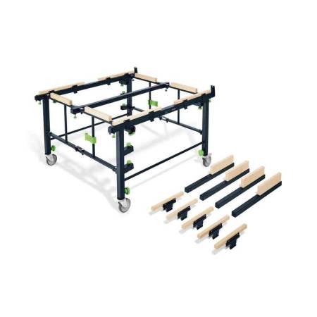 Mesa portátil de serrar y de trabajo STM 1800