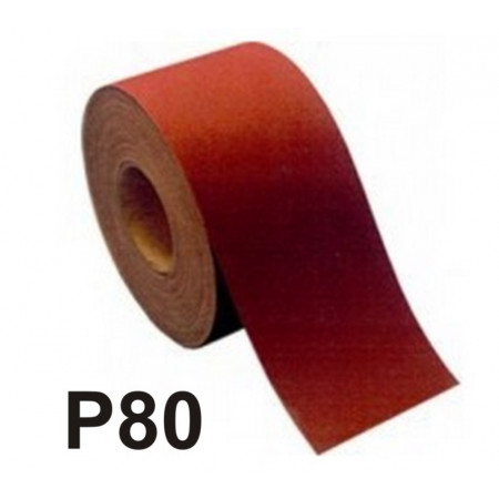 ROLLO 50m LIJA TELA ST230 A100 P80