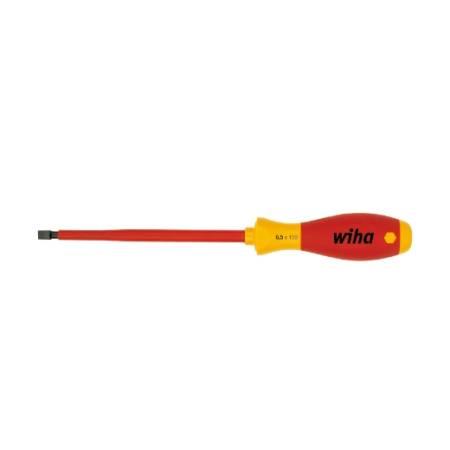 Destornillador SoftFinish® electric ranurado 2,5 x 75