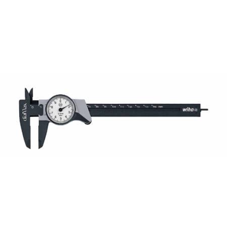 Pie de rey con reloj dialMax® con lectura de 0,1 mm (27082) 150 mm
