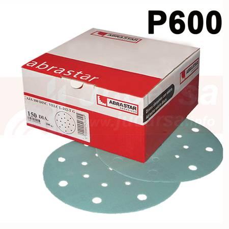 Discos Velcro G-600 Ø150-17T