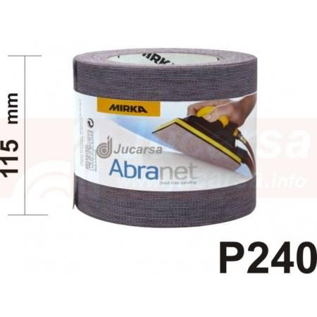 ROLLO ABRANET P240 (115 mm x 25 m)