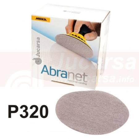 DISCOS ABRANET D150 mm P320 (50 und)