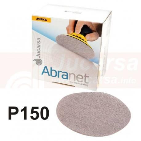DISCOS ABRANET D150 mm P150 (50 und)