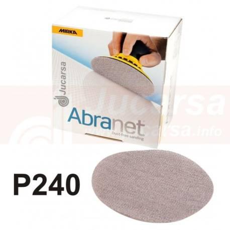 DISCOS ABRANET D150 mm P240 (50 und)