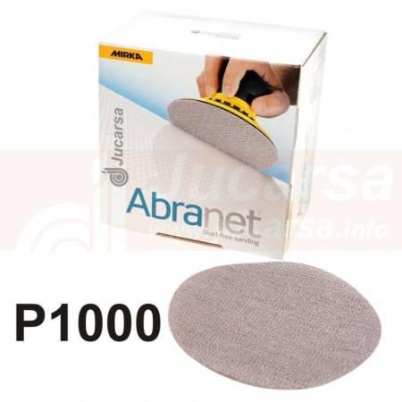 DISCOS ABRANET D150 mm P1000 (50 und)