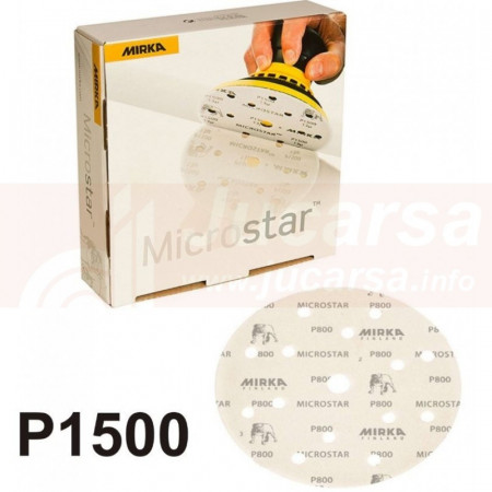 DISCO MICROSTAR 150mm GRIP P1500 15 AGUJEROS
