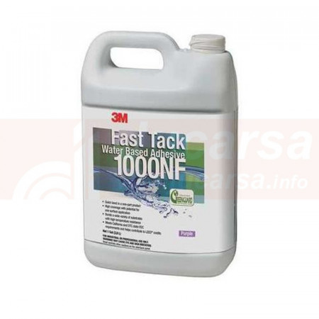 ADHESIVO 3M BASE AGUA 1000NF BLANCO 1 GALON
