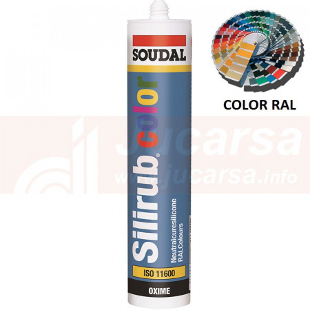 Cartucho 310 ml. SILIRUB RAL