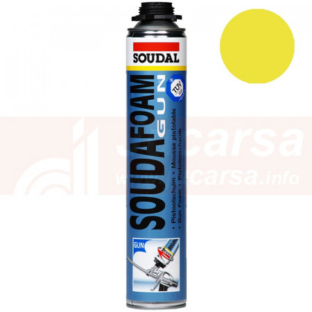 Soudafoam gun amarillo 750ml