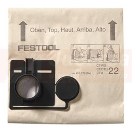 Bolsa filtrante FIS-CT 22/5
