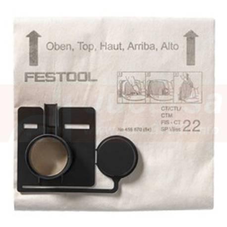 Bolsa filtrante FIS-CT 22 SP VLIES/5