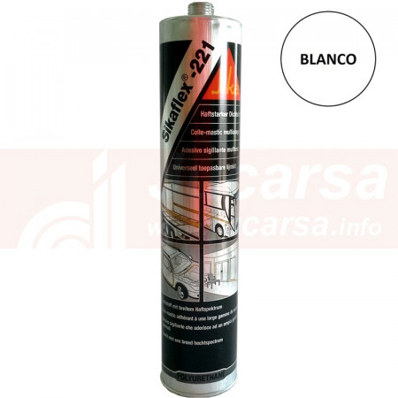 Cartucho 300 ml SIKAFLEX 221 BLANCO
