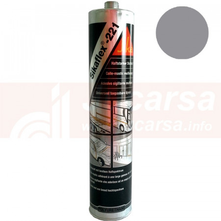 Cartucho 300 ml SIKAFLEX 221 GRIS