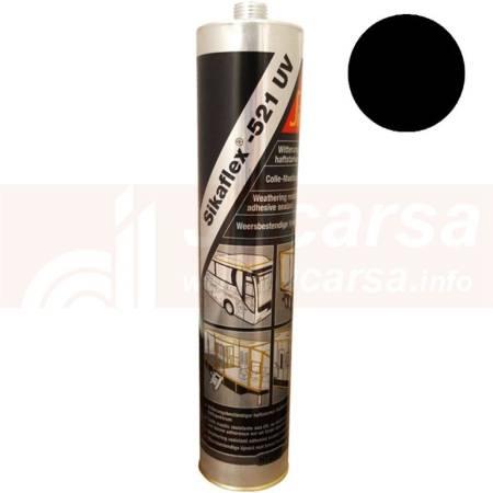 Cartucho de 300 cm³ SIKAFLEX 521 UV NEGRO