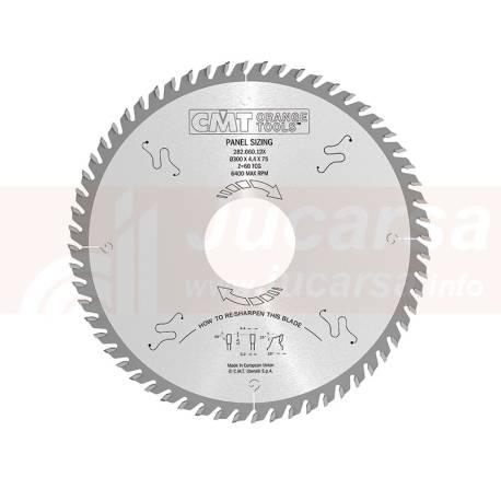 "SIERRA SECCIONADORA 400X4.4X30 Z72 TCG ""SCHELLING"""