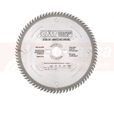 SIERRA CIRCULAR HW DE DIENTE TRAPEZOIDAL 160X2.2 1.6X20 2 Z40 10 TCG