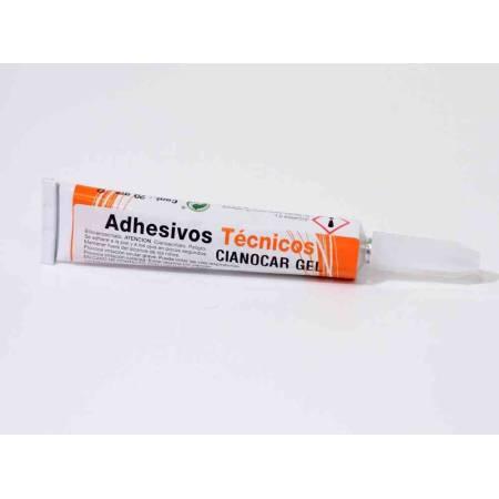 CIANOCAR GEL-Adhesivo instantaneo- Tubo 20 gr