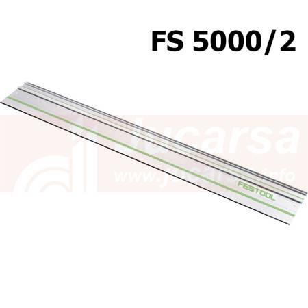 Festool Riel de guía FS 5000/2