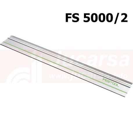 Riel de guía FS 5000/2