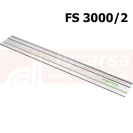 Riel de guía FS 3000/2