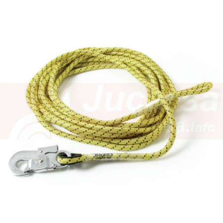 CUERDA DE SEGURIDAD 5MTS 10.5mm