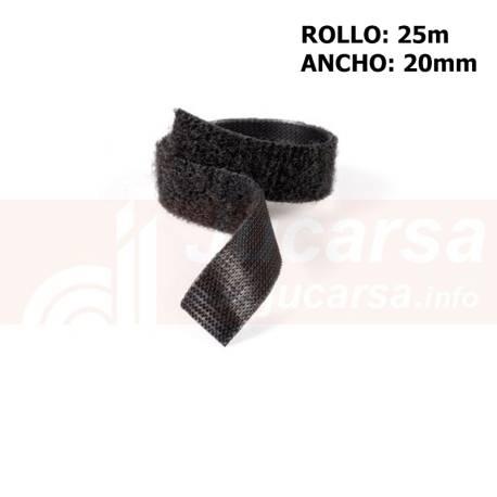 Metro Velcro OneWrap negro A.20mm