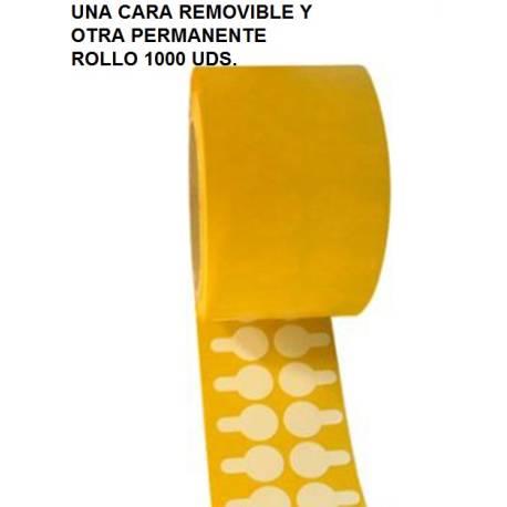ROLLO 1000 UDS DISCO DOBEL CARA 20mm