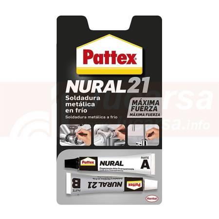 """NURAL 21 """"Cemento de metales"""" 2x11ml"""