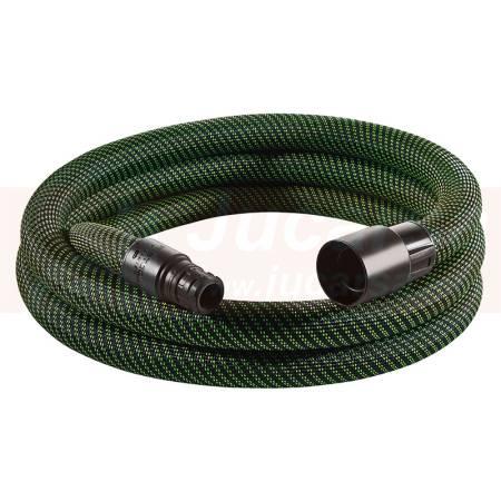Festool Tubo flexible de aspiración D 27/32 antiestático liso D 27/32x3,5m-AS/CT