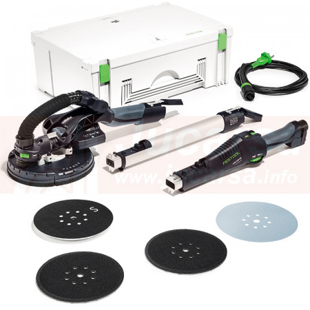 Festool Lijadora de pared LHS 225 EQ-Plus/IP PLANEX