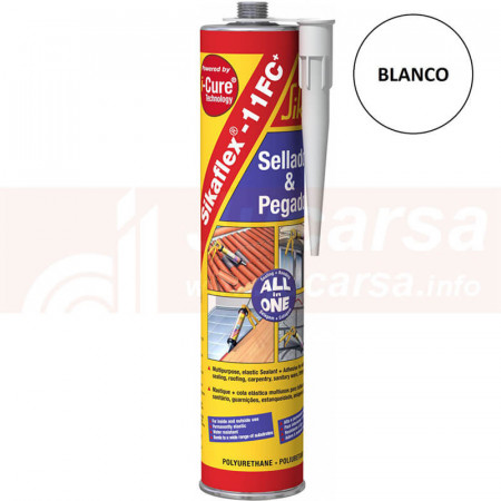 Cartucho 310 ml SIKAFLEX 11FC+ BLANCO